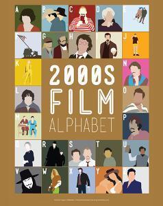 2000s Film Alphabet - A to Z by Stephen Wildish