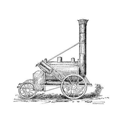 Stephenson's Rocket, 1829-Science Photo Library-Giclee Print