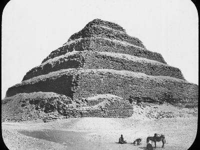 Stepped Pyramid of King Djoser, Saqqara, Egypt, C1890-Newton & Co-Photographic Print