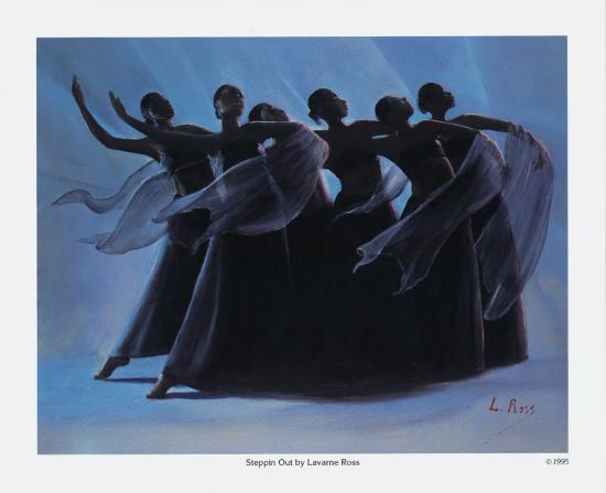 Steppin' Out-Laverne Ross-Art Print