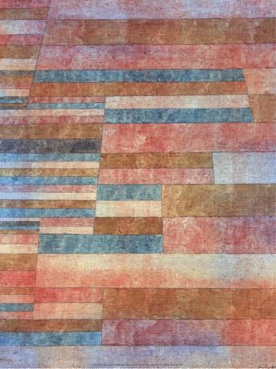 Steps, 1921-Paul Klee-Art Print