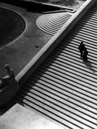 Steps of the Trocadero--Photographic Print