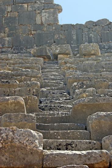 Steps of the Xanthos Theatre, Xanthos, Turkey--Photographic Print