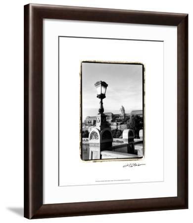 Steps to Fisherman's Bastion-Laura Denardo-Framed Premium Giclee Print