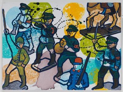 Steptaker III, 2008-Nora Soos-Giclee Print