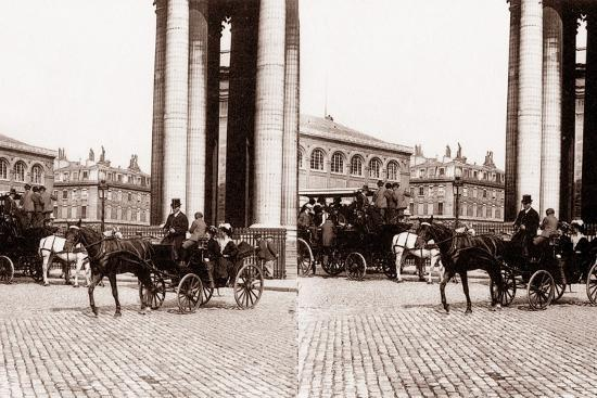 Stereoscopic View of the Panthéon, Paris, 1890--Photographic Print