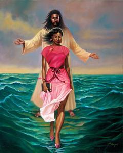 He Walks with Me by Sterling Brown