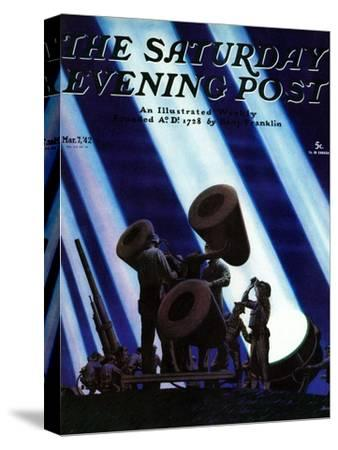 """""""Anti- Aircraft,"""" Saturday Evening Post Cover, March 7, 1942"""