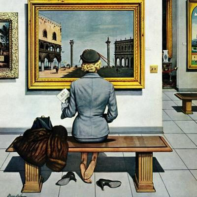 """Art Lover"", March 3, 1956"