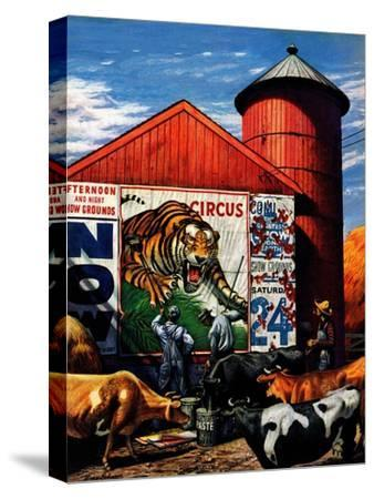 """Barnside Circus Poster,"" August 4, 1945"