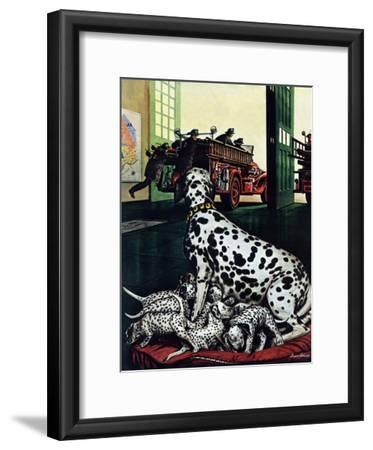 """Dalmatian and Pups,"" January 13, 1945"
