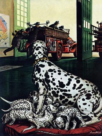 """Dalmatian and Pups,"" January 13, 1945"