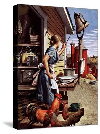 """""""Dinner Bell,"""" October 21, 1944"""