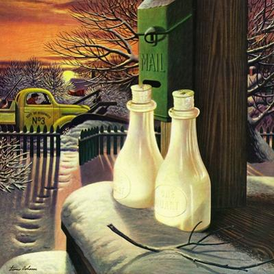 """Frozen Milk,"" January 8, 1944"