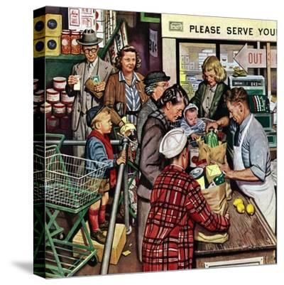 """Grocery LIne,"" November 13, 1948"