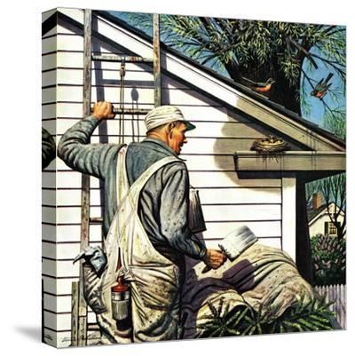 """Housepainter and Bird's Nest,"" May 12, 1945"