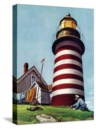 """Lighthouse Keeper,"" September 22, 1945"