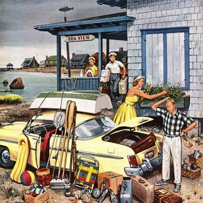 """""""Packing the Car"""", September 8, 1956"""