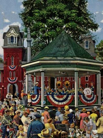 """Patriotic Band Concert"", July 7, 1951"