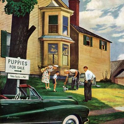 """Picking a Puppy"", September 30, 1950"
