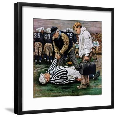 """""""Ref Out Cold"""", November 25, 1950"""