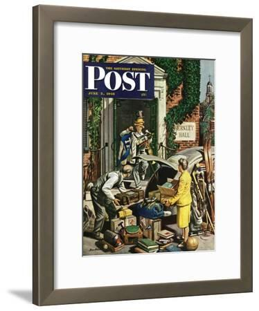 """Returning Home From College,"" Saturday Evening Post Cover, June 5, 1948"