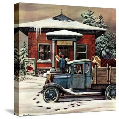 """Rural Post Office at Christmas,"" December 13, 1947"