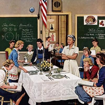 """Setting the Table"", February 16, 1957"