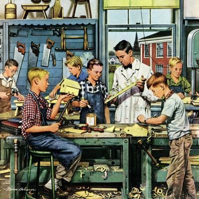 """""""Shop Class"""", March 19, 1955"""