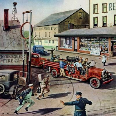 """""""Small Town Fire Company,"""" May 14, 1949"""