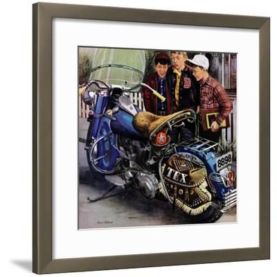 """Tex's Motorcycle"", April 7, 1951"