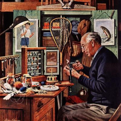 """Tying Flies"", March 4, 1950"
