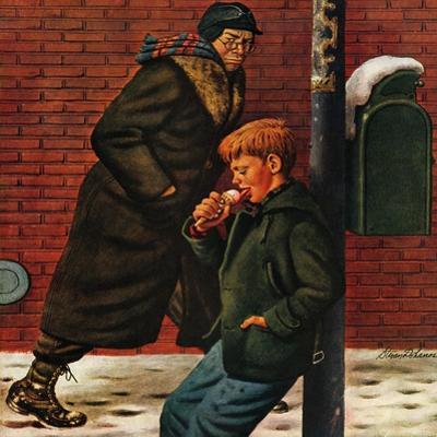 """""""Winter Ice Cream Cone,"""" February 8, 1947"""