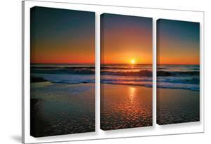 Morning Has Broken Ii, 3 Piece Gallery-Wrapped Canvas Set by Steve Ainsworth