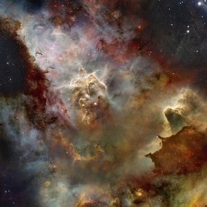 Deep Space Nebula by Steve Allen