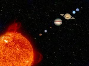 Planets of the Solar System by Steve Allen