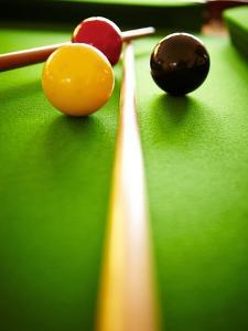 Billiard Balls by Steve Allsopp