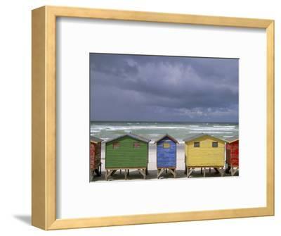 Beach Huts, Muizenberg, Cape Peninsula, South Africa, Africa