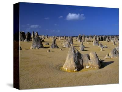 Limestone Pillars in the Pinnacles Desert, Nambung National Park, Western Australia, Australia