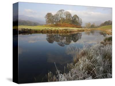 River Brathay in Winter, Near Elterwater, Lake District, Cumbria, England, United Kingdom