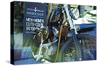 Harley Davidson at Old Glory Tattoo Parlor