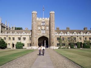 Trinity College, Cambridge, Cambridgeshire, England, United Kingdom by Steve Bavister