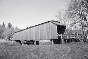The Grays River Covered Bridge by Steve Bisig