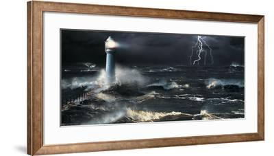 Lightning at the Lighthouse