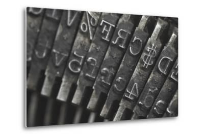 Old Typewriter Type Focus On Money Symbol