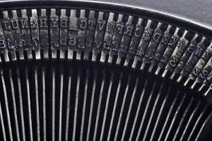 Old Typewriter Type by Steve Collender