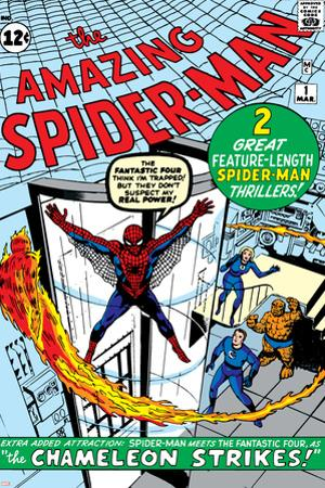 Amazing Spider-Man No.1 Cover: Spider-Man