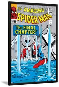 Amazing Spider-Man No.33 Cover: Spider-Man by Steve Ditko