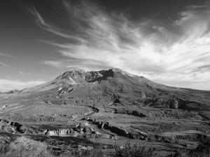 View of Mount Saint Helens Showing New Dome-Building by Steve & Donna O'Meara