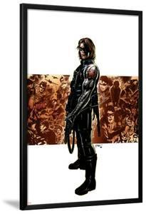 Captain America No.11 Cover: Winter Soldier by Steve Epting